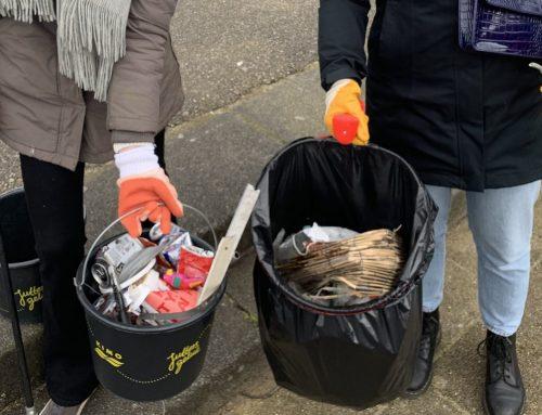Haarlemse jongeren maken de stad schoon